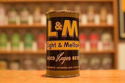 L & Mflattop beer can,Maier brewing, Los Angeles CA - R. SKALLA CAN!