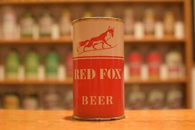Red Foxflattop beer can,Best brewing, Chicago IL - AWESOME!