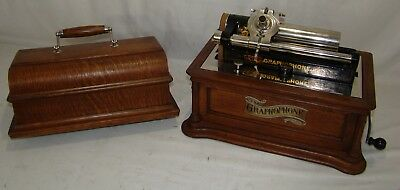 Columbia Graphophone Type Bf Peerless Phonograph Completely Restored