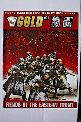 2000 AD Gold 001 - FIENDS OF THE EASTERN FRONT - Finley-Day & EZQUERRA