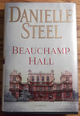 Beauchamp Hall: A Novel (Hardcover, 2018) by Danielle Steel Gently read, like ne