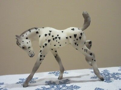 Cool Breyer Classic to Valentine's Day Appaloosa- For the one you LOVE !