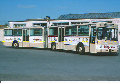 Farb-Foto Vetter MB O 305 G der TWE in Verl 1994