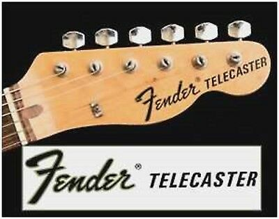 Telecaster  Headstock decal