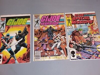 gi joe comic lot