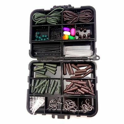 Fishing Tackle Carp End Tackle Box Weight Safety Clips Swivels chod Hair r Y4W4)