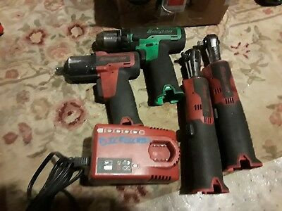 . Snap on tools cordless 14 volt toolsNeed to be overhauled No reserve