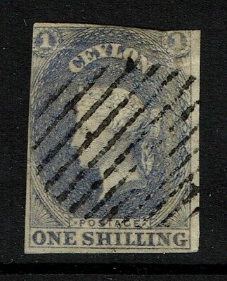 Ceylon SG# 10 - Used / Possible Tiny Shallow Thin - Lot 090317