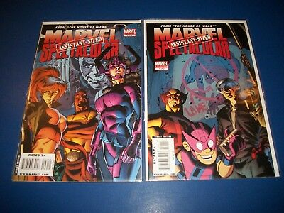 Marvel Assistant Sized Spectacular #1,2 VF to NM Gems 1st Galacta Key