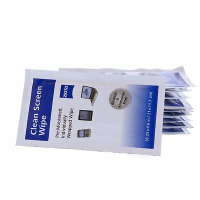 Zeiss Alcohol Free Streak Free Pre-Moistened Screen Cleaning Wipes (200 Count)