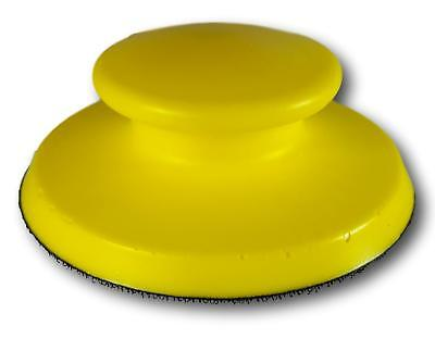 Round Hand Sander 5 Inch With Hook and Loop Base - Tough Polyurethane Foam