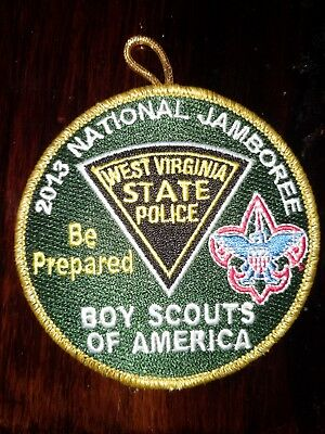 2013 National Jamboree BSA West Virginia State Police Visitor Patch