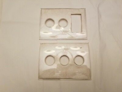 Vintage Honeywell TAP-LITE Covers, Template,Wall Switches.