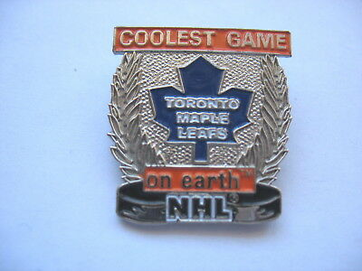 TORONTO MAPLE LEAFS LAPEL PIN - Coolest Game on Earth