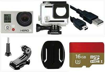 Used GoPro HERO 5 Session Waterproof 4K 10MP HD Action Camera frame accessory US