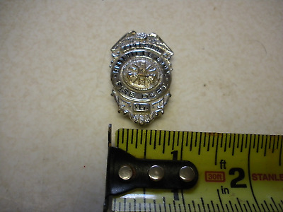 Vintage Knoxville Comm. Fire Department Firemans  Badge Check Out