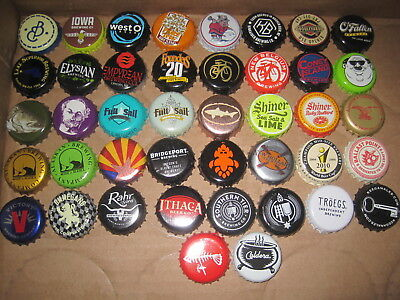 Beer Bottle Caps 50 Different USA: Lot B