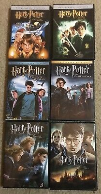 Harry Potter: 6-Film Collection (DVD) 1-4, 7.1 & 7.2
