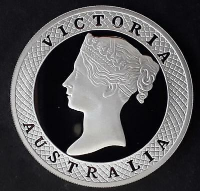 2008 Cook Islands 1850s Taylor's Victoria Sixpence 1oz Silver (.999) $1 coin..