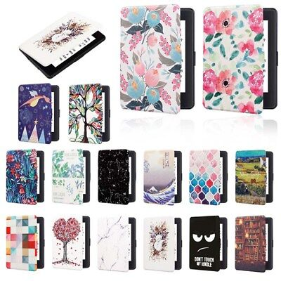 Magnetic Painted Smart Shell Case Cover Sleeve for Kindle Paperwhite1 2 3 Beauty