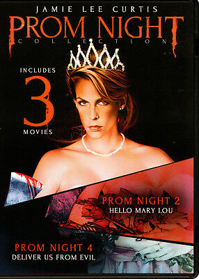 Prom Night: Collection 1, 2, 4 (DVD, 2018) triple feature Jamie Lee Curtis 1980