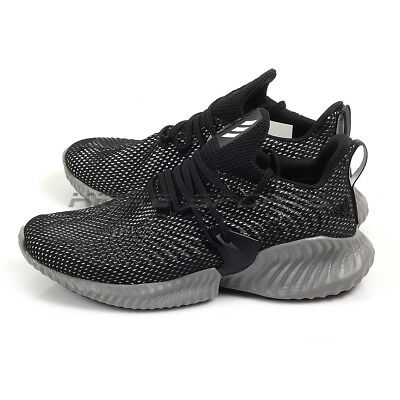 03fb3f9d1 Adidas Alphabounce Instinct M Lifestyle Running Shoes Black Grey White  BC0626