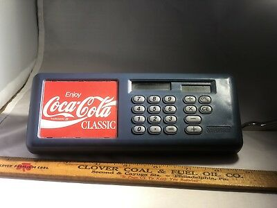 Coca Cola Classic Advertisement Shoppers Grocery Cart Calculator