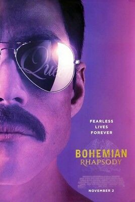 BOHEMIAN RHAPSODY great original 27x40 D/S movie poster LOW INVENTORY (th2)