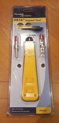 D814 W/Bix & 110/66 Cut Blade Cable Insertion & Extraction Tools