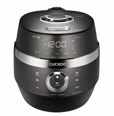 CUCKOO CRP-JHR0620FD IH Electric Pressure Rice Cooker English 6 Cups