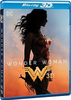 Blu-Ray Wonder Woman (Blu-Ray 3D) 2017 Film - Fantascienza Warner Home Video - N