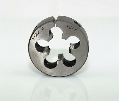 "1/2"" x 14 WPT Carbon Steel Button Die Nut 2"" OD"