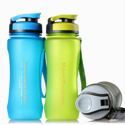 Outdoor Sports Bottle Portable Travel Water Drinking Cup Leak-proof Bottle 600ml