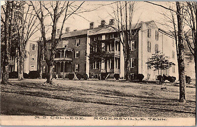 Rogersville Synodical College, Rogersville Tennessee Vintage Postcard M12