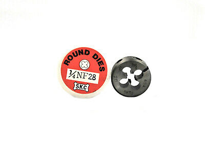 Adjustable Round Split Dies SKC Thread Tool 1/4 NF28, Tungsten Steel