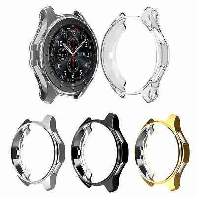 1PC Slim Electroplated TPU Watch Case For Samsung Gear S3 Frontier Protective