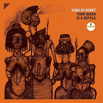 Sons Of Kemet - Your Queen Is A Reptile   Cd New!