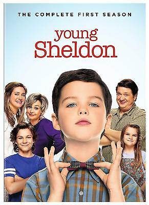 New Sealed Young Sheldon - The Complete First Season DVD 1