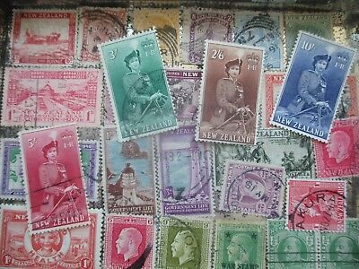 ESTATE: New Zealand in tin unchecked unsorted - great item  (s66)