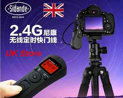 Jintu 100M Wireless Timer Remote Time Lapse fo Canon 7D 6D 1Ds 1D 5D Mark II III