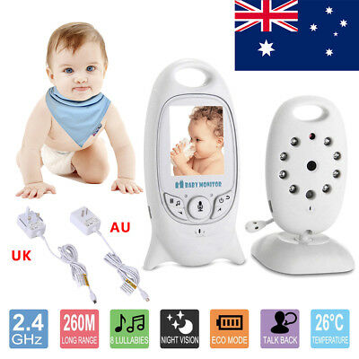 2'' LCD Digital Baby Monitor Audio Wireless Video Security Camera Night Vision