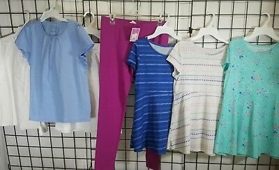 Lot of girls plus size clothes  14 1/2 16 1/2 14.5 16.5 one nwt shirts leggings