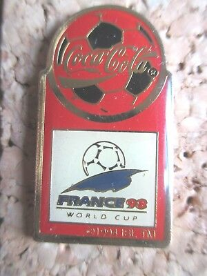 pins CocaCola coupe du monde France 98 sport football