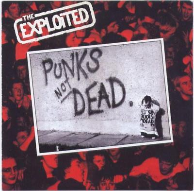 The Exploited - Punks Not Dead LP Radiation Records