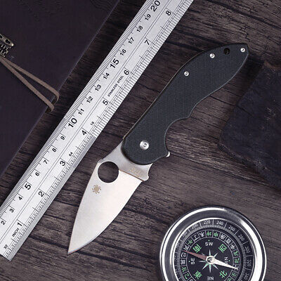 Wood Knives Vintage Stainless Steel Ambidextrous Pocket Tactical Folding Knife