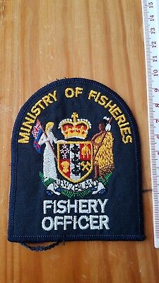 New Zealand, Ministry Of Fisheries, Fishery Officer Patch