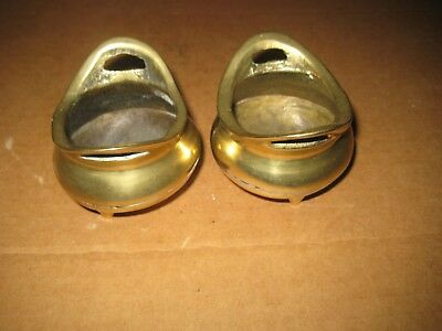 Vintage Small Brass Bowls x2