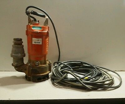 Godwin GST-10-1 Submersible Pump Trash Pump 115V, 1HP, 10.3 A, 1 PH (#1)
