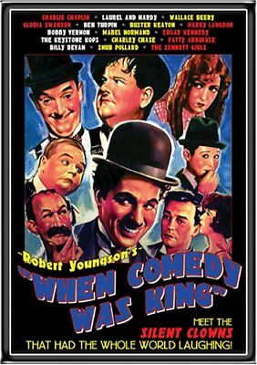Robert Youngson - When Comedy Was King Dvd - Laurel And Hardy - New/sealed