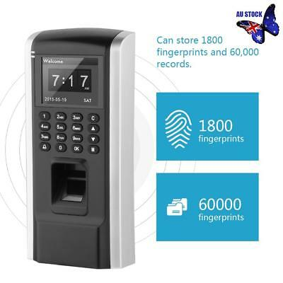 Fingerprint Attendance Machine Time Clock Employee Fingerprint Access Control AU